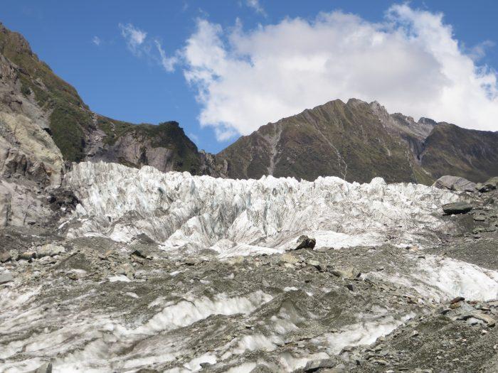 gletsjer route Nieuw-Zeeland