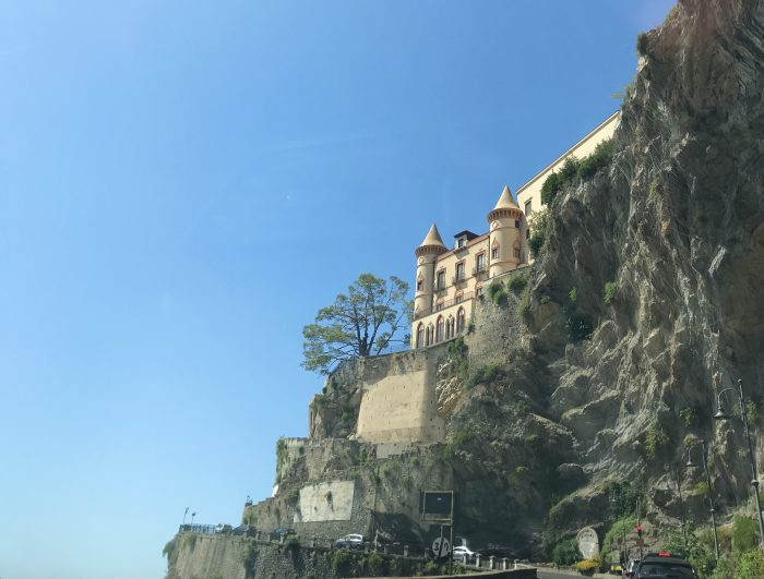 Amalfikust zuid Italië vakantie