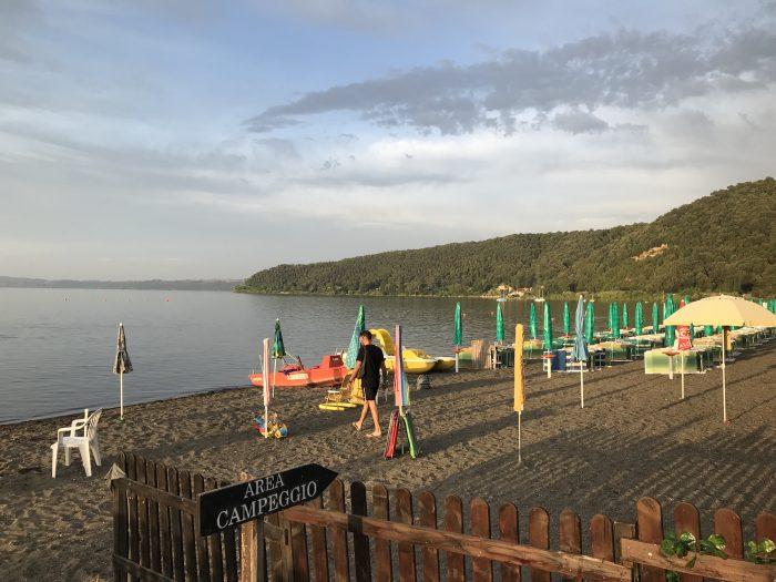 Lago Bracciano rondreis Italië en Frankrijk