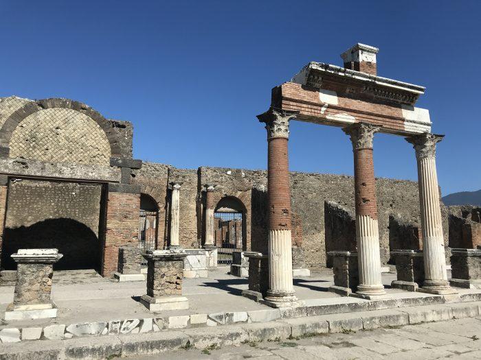 Plein opgravingen Pompeï