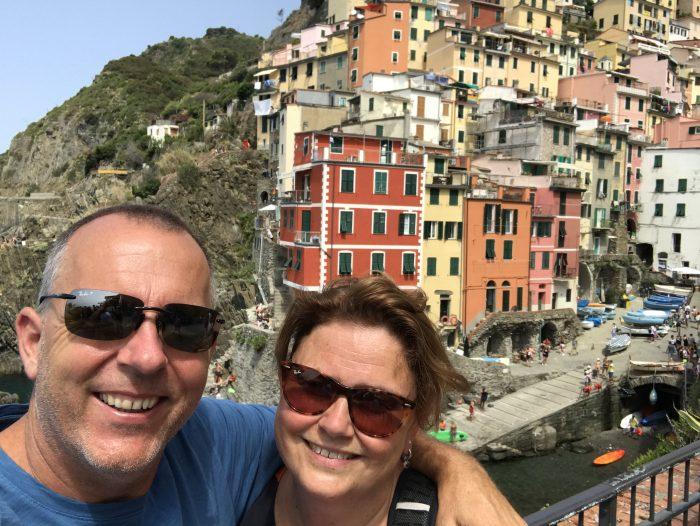 Riomaggiore Cinque Terre Italië