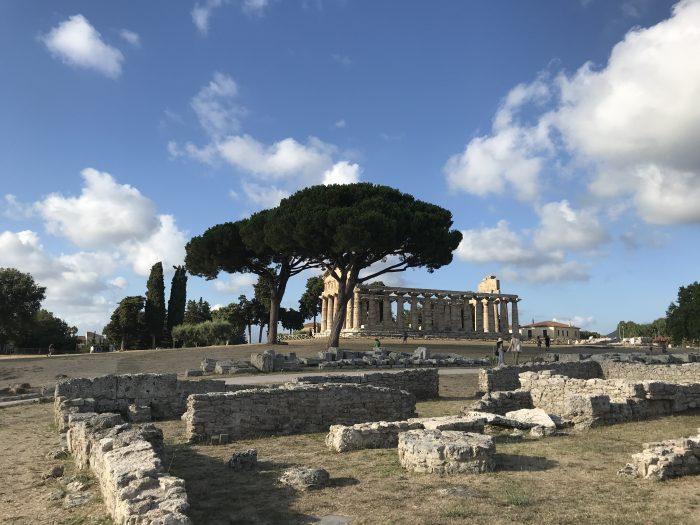 Tempel Paestum Zuid-Italië