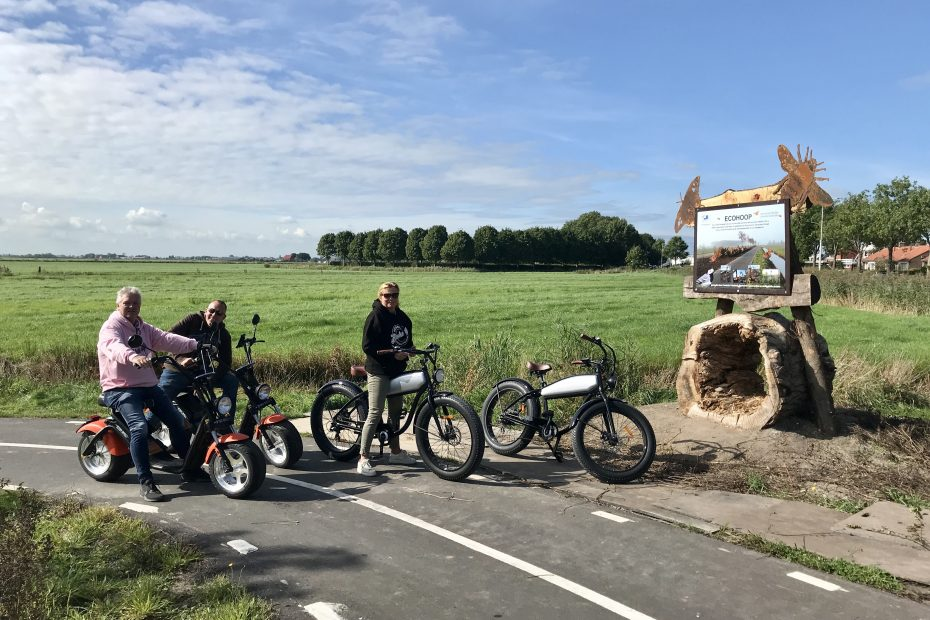 e-chopper huren in Friesland