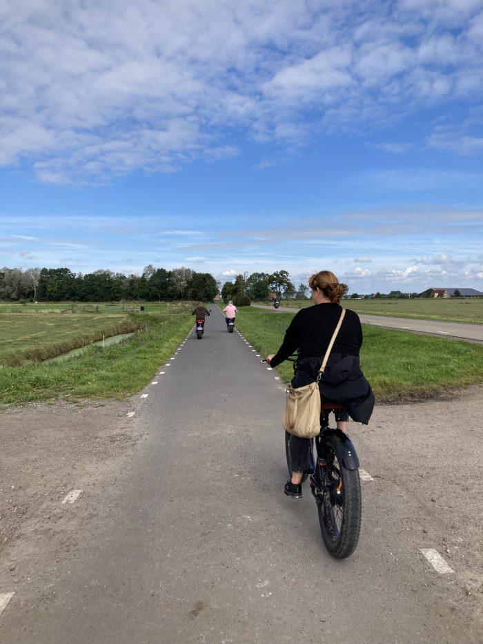 e-fatbike huren Friesland