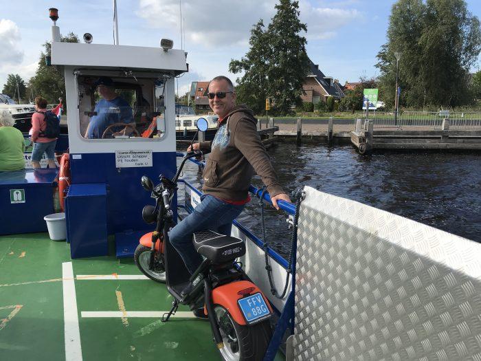 fietspont hin en wer Friesland