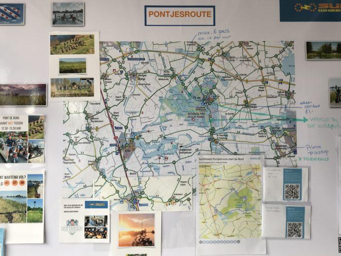info pontjesroute Friesland